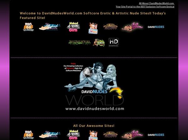 Davidnudesworld.com Clip Cash