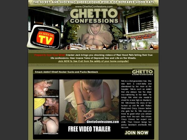 Ghetto Confessions Movies