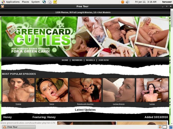 Green Card Cuties Valid Password