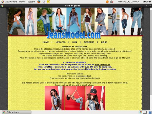 Jeansmodel Exit Discount