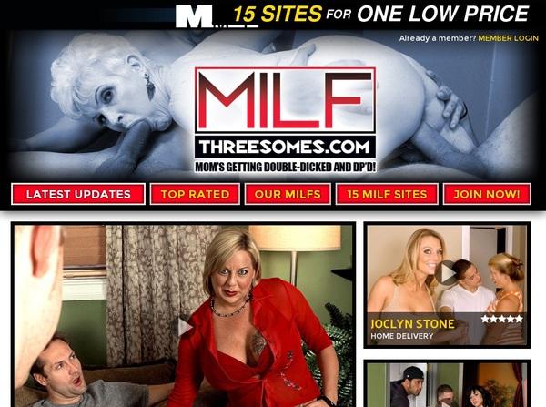 Milfthreesomes.com Real Accounts