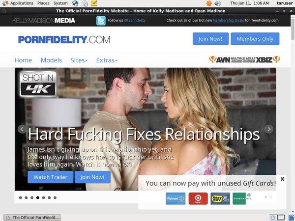 Porn Fidelity 사용자 이름
