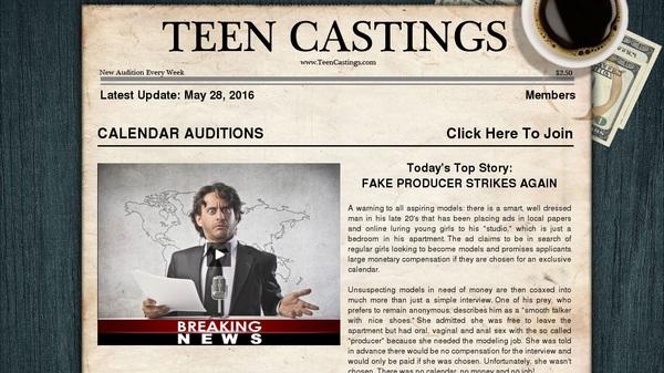 Premium Teen Castings Account