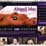 Abigail Mac User Name