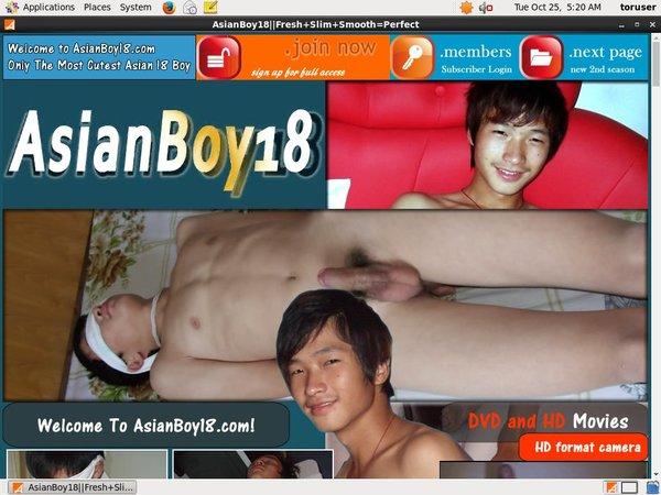 Asian Boy 18 Usernames