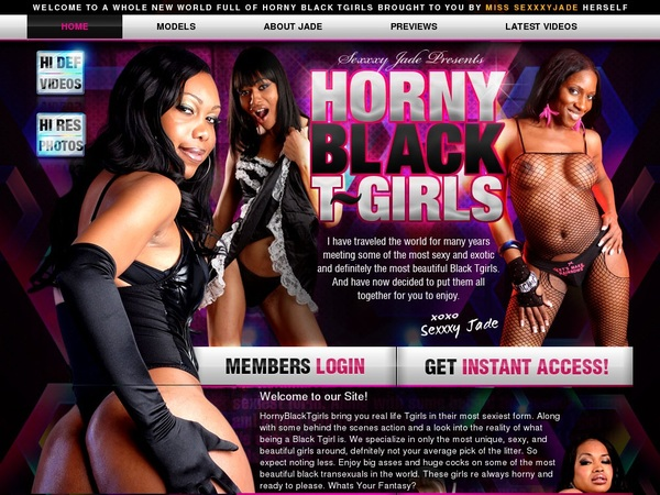 Horny Black TGirls Video