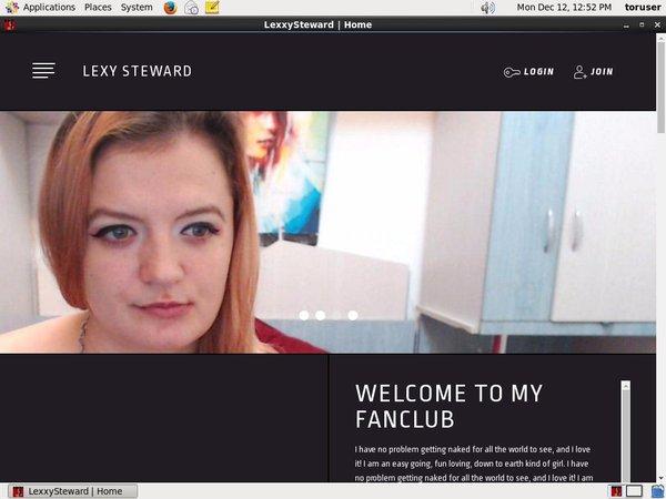 Lexxy Steward Free Account And Password