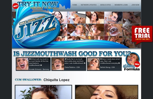 Free Jizzmouthwash.com User
