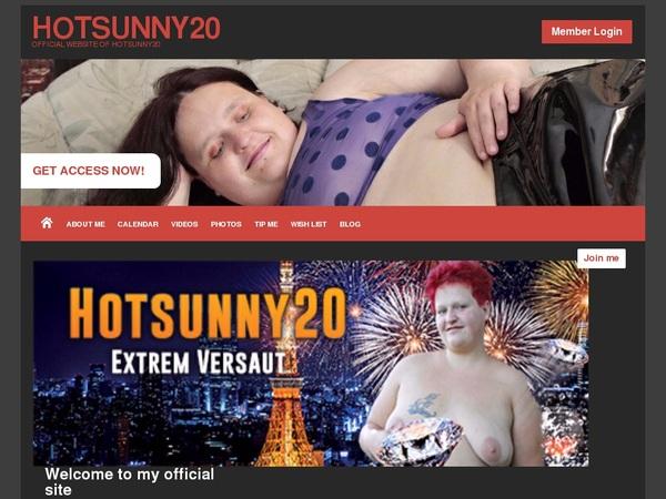 Hotsunny20 사용자 이름