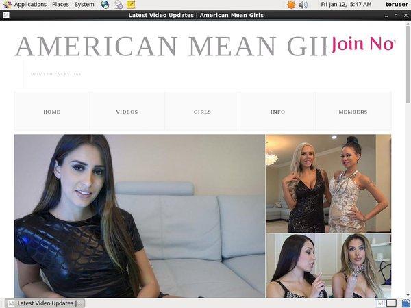 Buy Americanmeangirls Account