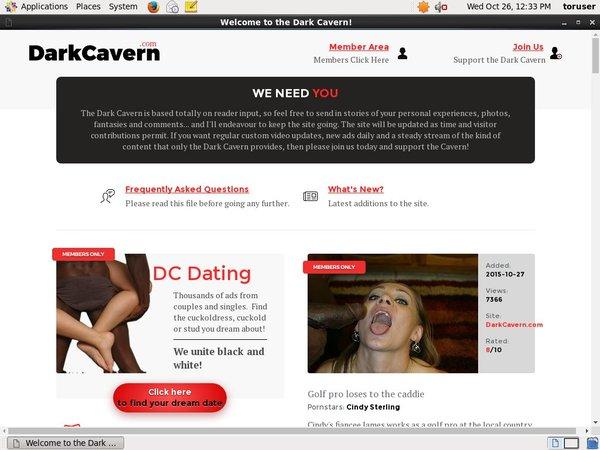 Dark Cavern Account Gratis