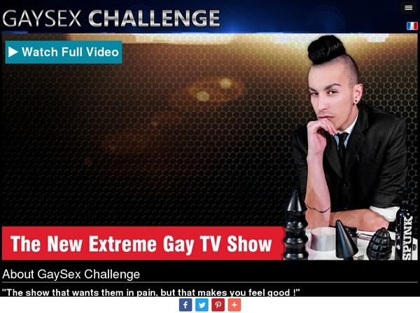 Gaysexchallenge.com Free Accounts And Passwords