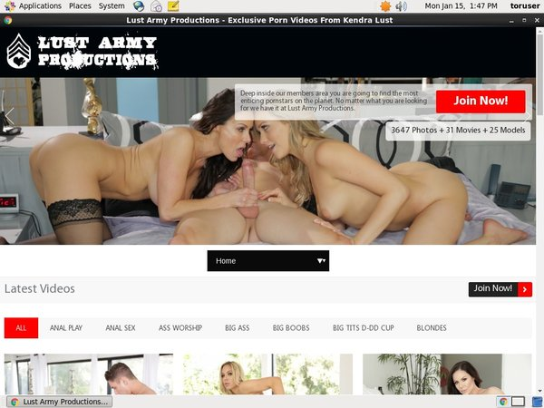 New Lust Army Videos
