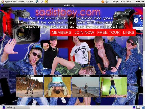 Sadistboy.com Direct Pay