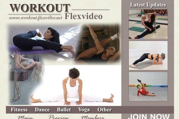 Workout Flex Video Join With ClickandBuy