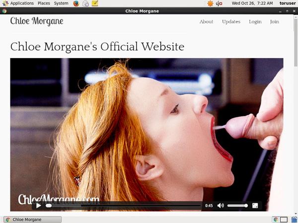 Chloemorgane.com Login Password