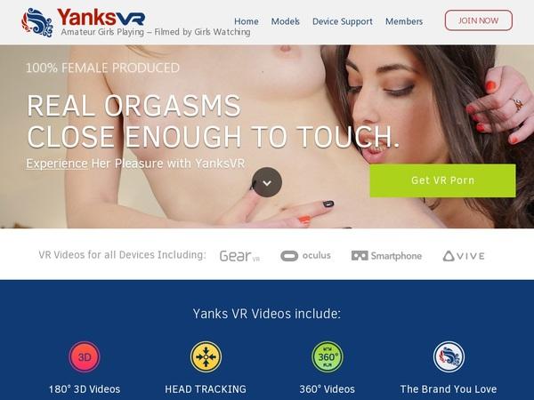 Yanks VR Discount