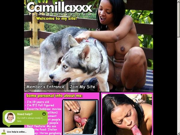Free Camilla Xxx Account Passwords