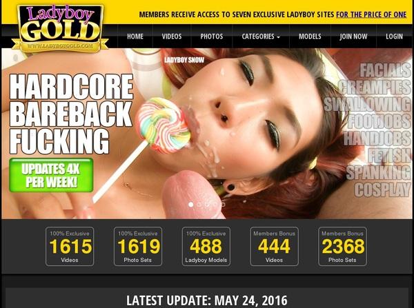 Ladyboy Gold Free Acc