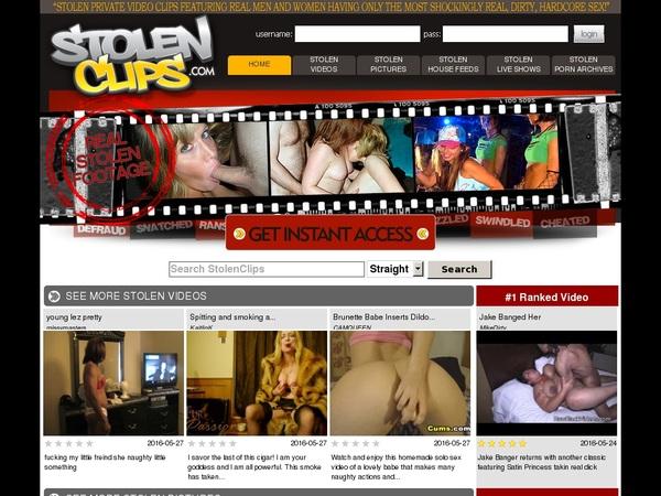 Stolen Clips Porn Videos
