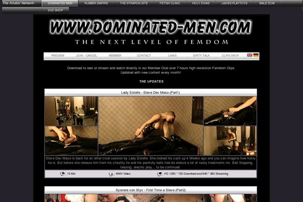 Dominatet Men Models
