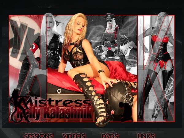Mistress Kelly Kalashnik With Canadian Dollars